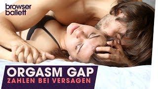Orgasm Gap – Zahlen bei Versagen