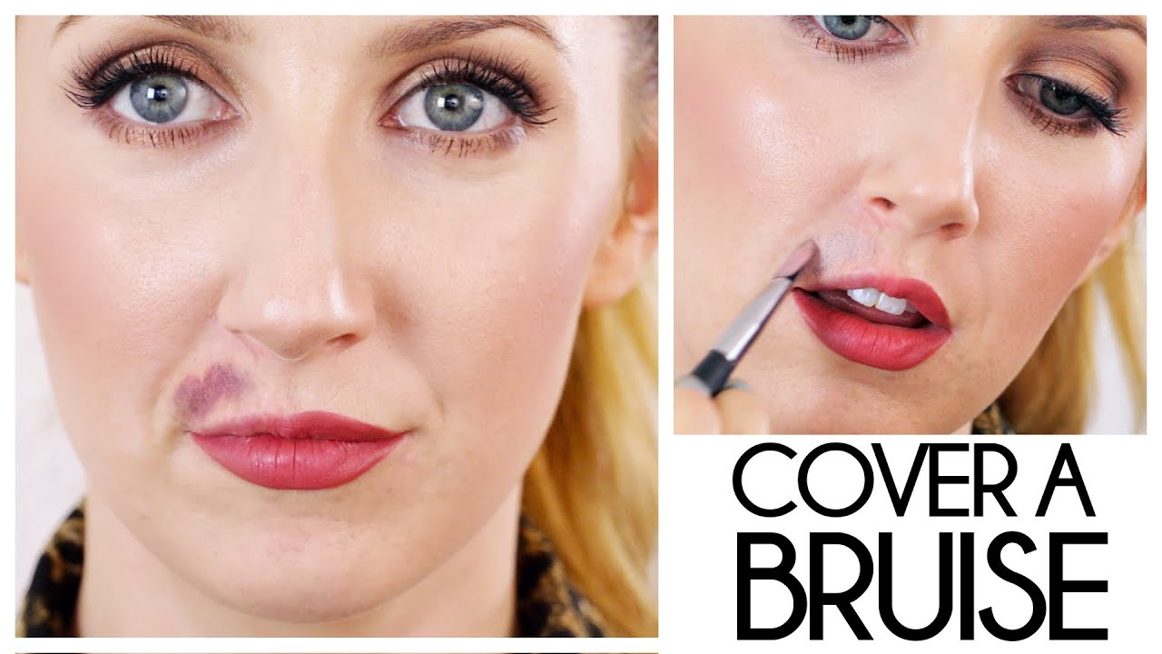 How To Cover A Bruise With Lipstick