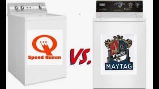 Speed Queen VS  Maytag Commercial: Which one is Better?