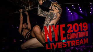 2019 New Year LIVE COUNTDOWN At The Abbey WeHo - Gay Bar #NYE2019