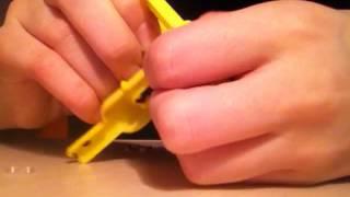 Видео-урок плетение из резинок!