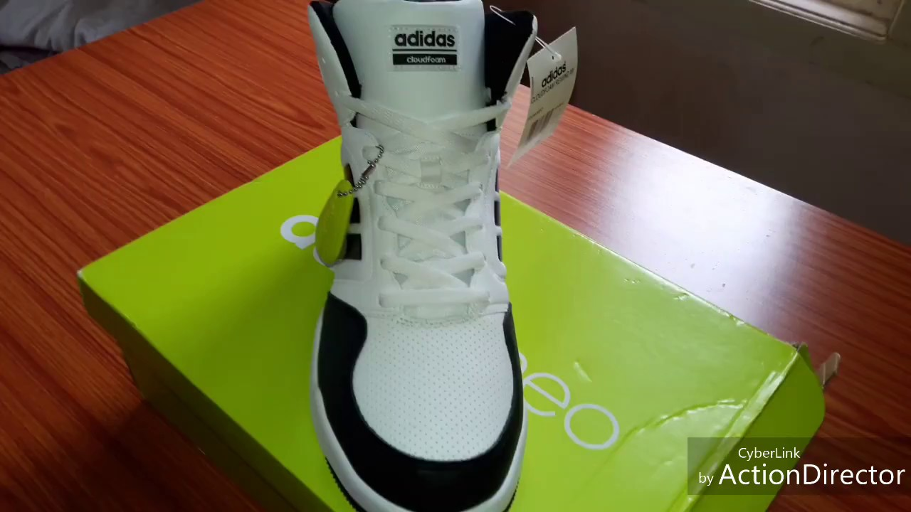 e22f864dcb6 Adidas neo cloudfoam rewind mid Review - YouTube