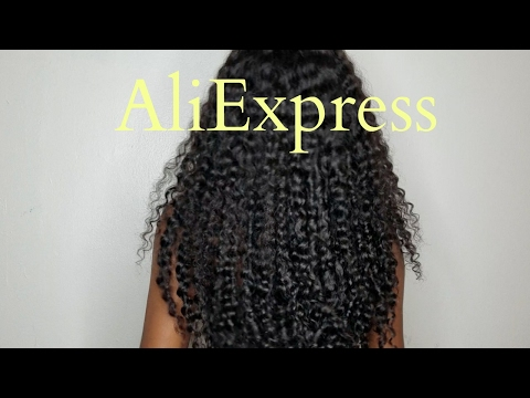 Ms Here Aliexpress Company| Curly Hair 2 month update| Forever Tati