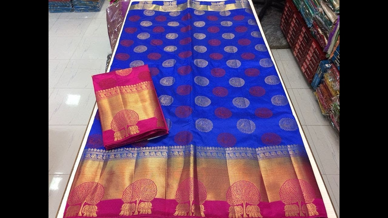 aa4d656c1d Banarasi Silk Sarees With Low Price || latest designer banarasi silk ...