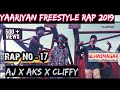 YAARIYAN FREESTYLE RAP 2019- Official Video| Mumbai Hip Hop Raps | Yaariyan