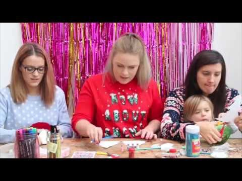 Making Paper Christmas Trees   Theseglitteryhands