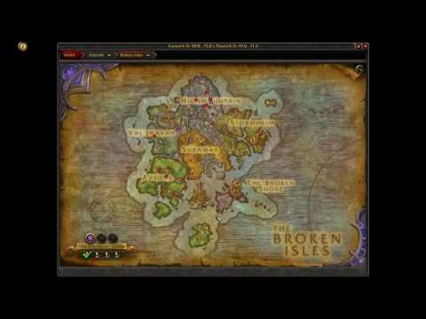 How to get to Eye of Azshara island WoW