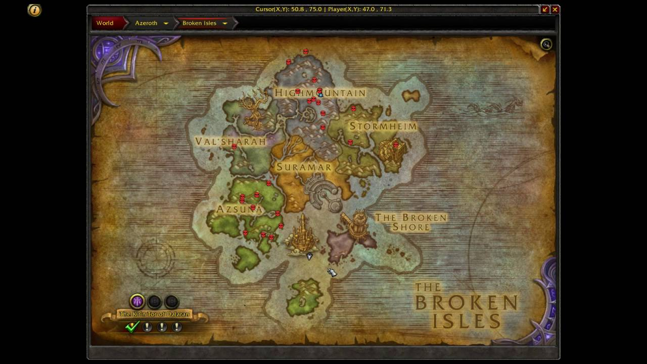 How To Get To The Eye Of Azshara Island