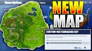 *NEW* SECRET MAP COMING TO FORTNITE! - How to Download New Fortnite Battle Royale Map (Custom Games)