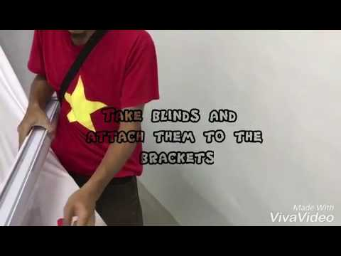 How To install Roller Blinds - Home Blind Marketing From Lazada & 11 Street