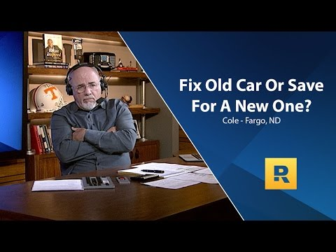 Should I Fix Old Car Or Save For A New One?