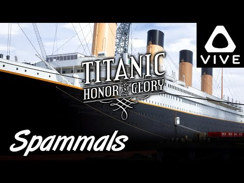 Titanic Honor & Glory | Demo 3 | TITANIC IN VIRTUAL REALITY (HTC Vive VR)