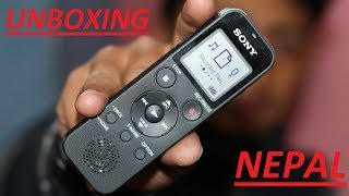 SONY ICD PX470 || Best Budget Audio recorder|| UNBOXING || NEPAL ||