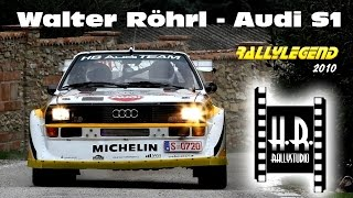 Rally LEGEND 2010 - Walter Röhrl - Audi S1 - H.R.rallystudio