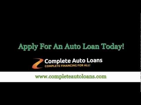 Auto Bad Credit Loan - Complete Auto Loans