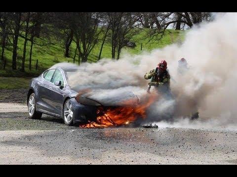 High Voltage Vehicle Firefighting - Brock Archer