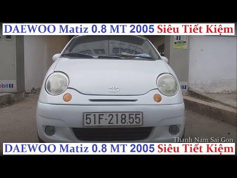 Bán Xe DAEWOO Matiz 0.8 MT 2005 - 75 triệu - xe nhỏ gọn tiết kiệm xăng nổi tiếng. ĐÃ BÁN