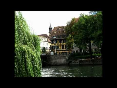 Strasbourg La petite france Alsace FRANCE - ( B. Egger - Der Dritte Mann - The Third Man ) - HD / HQ