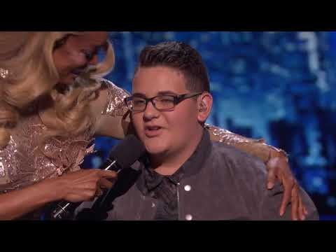 America's Got Talent 2017 Christian Guardino Performance & Comments Semi-Finals S12E21