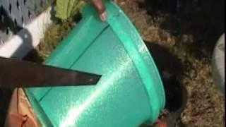 Cut Plastic Buckets