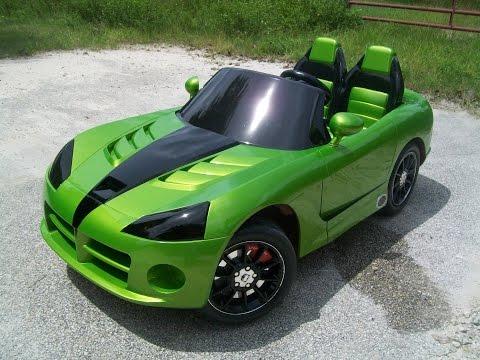 power wheels custom built dodge viper venom pt 1 youtube. Black Bedroom Furniture Sets. Home Design Ideas