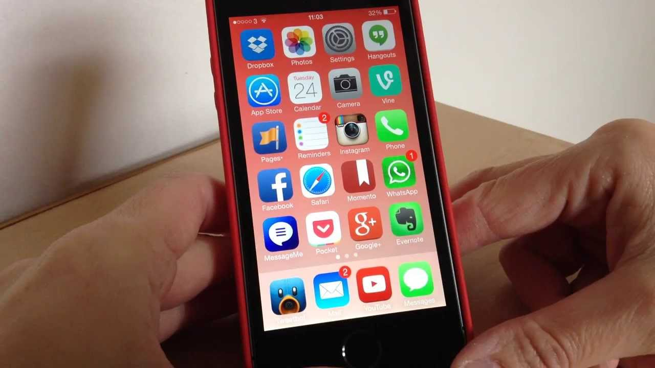 what s on my iphone 5s youtube