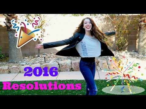 New Years Resolutions 2016 Collab!