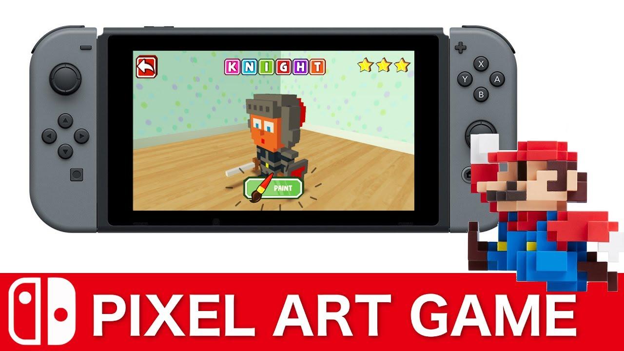 Nintendo Switch Pixel Art Game New Youtube