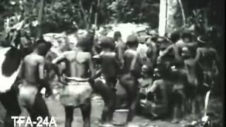 Пигмеи мбути (запись 1929 года, без звука)