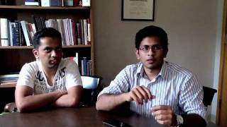 Colgate Students talk about the Times of India