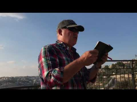Correll Israel Trip 2018 - Part 1  Kidron Valley Mount of Olives