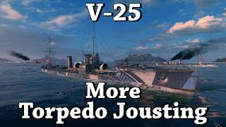 wows v 25 more torpedo jousting