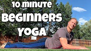 10 min Yoga for Men Complete Beginners   Sean Vigue