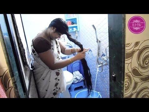 ILHW Real Rapunzel Deepas Below Knee Length Hair Washing
