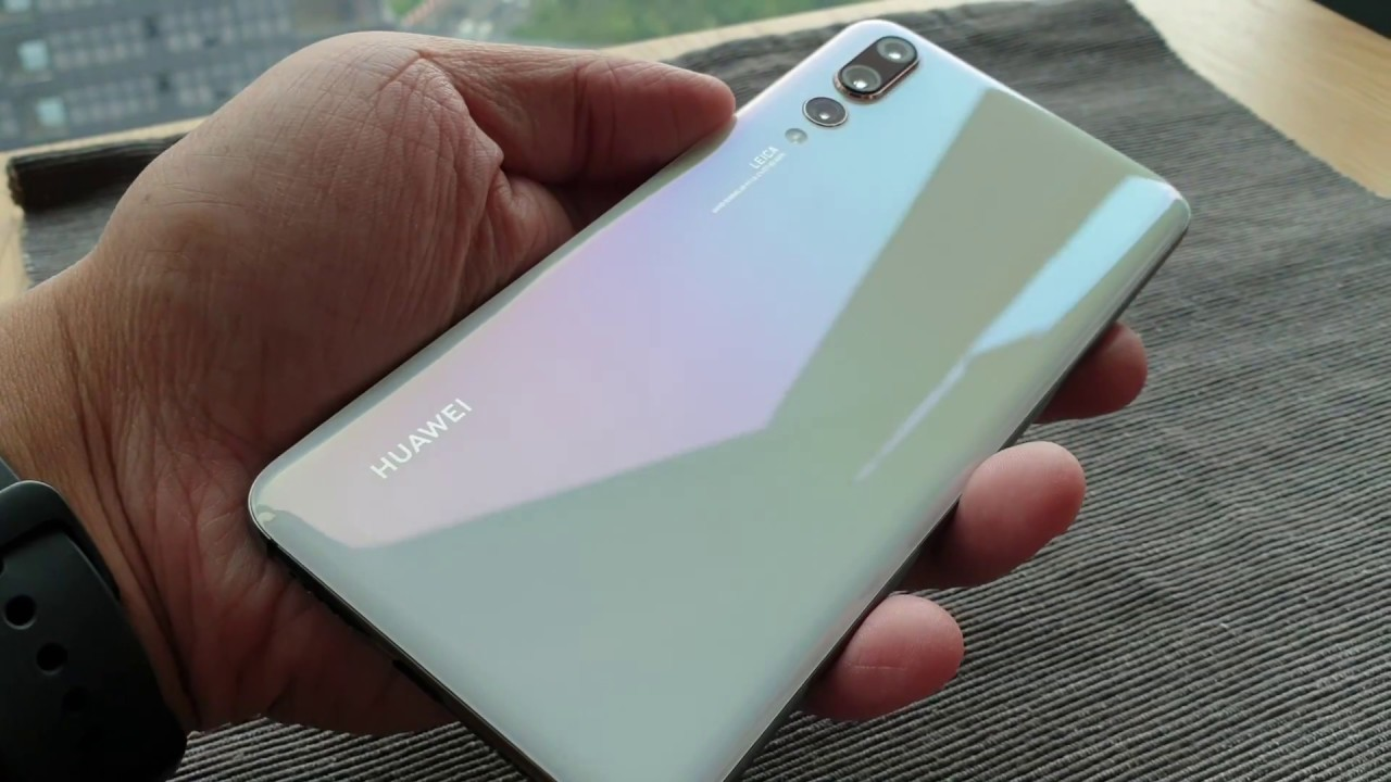 The Huawei P20 Pro Pearl White Edition Up Close Youtube