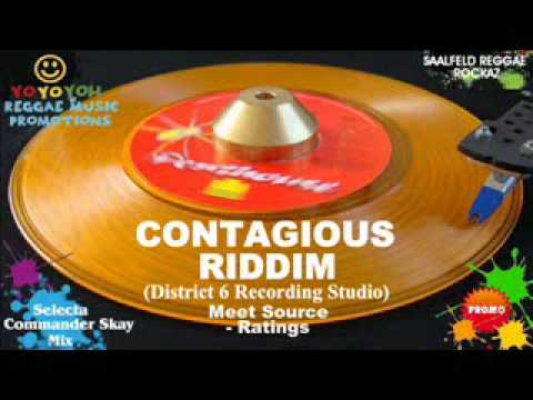 Contagious Riddim Mix [March 2012] District 6 Recording Studio