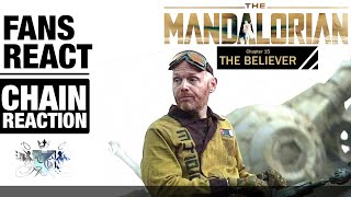 Fans react to The Mandalorian S2E7 Chapter 15 (The Believer) (chain-reaction) (careful for spoilers)
