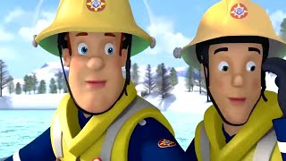 Fireman Sam US 🌟 Saving Sarah and James 🌟 Ice Rescue 🔥 Kids Movie