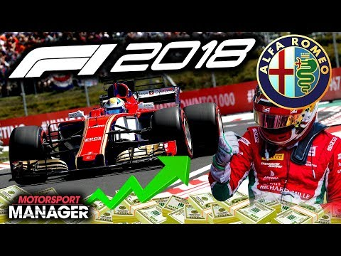 INSANE RACE! ENTIRE GRID BATTLES AT THE END! - F1 2018 Alfa Romeo Manager Career Part 22