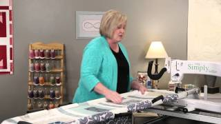 Quilting with the HQ Simply Sixteen – Getting Started with HQ Simply Sixteen