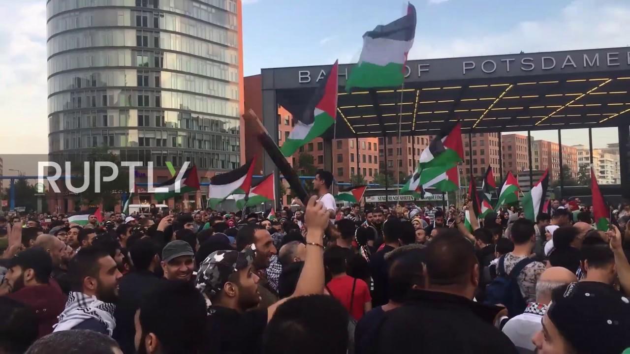 Germany: Pro-Palestinian demonstrators join backlash to Al-Aqsa feud in Berlin