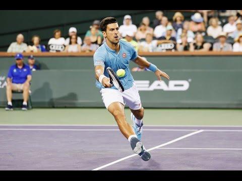 BNP Paribas Open 2017: Novak Djokovic Hot Shot