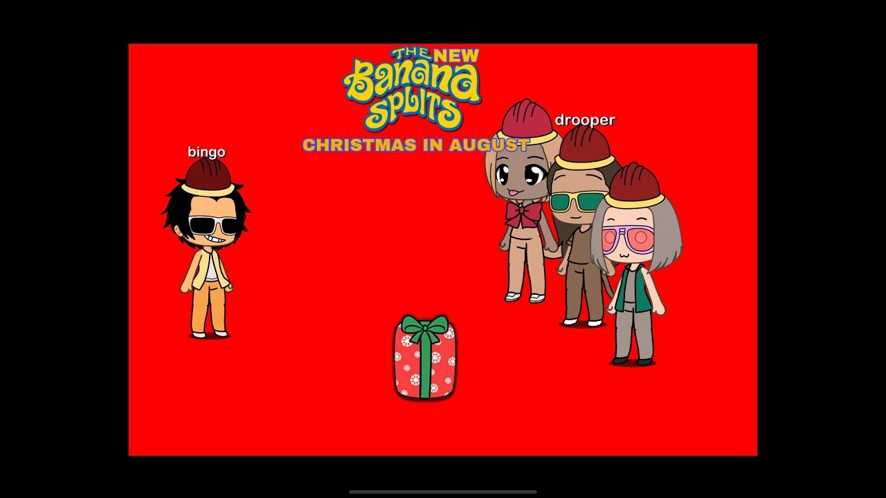 Christmas In August Clipart.The New Banana Splits Show 2 Christmas In August