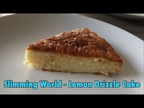 EASY Slimming World - Lemon Drizzle Cake (8 Syns The Whole Cake)!!