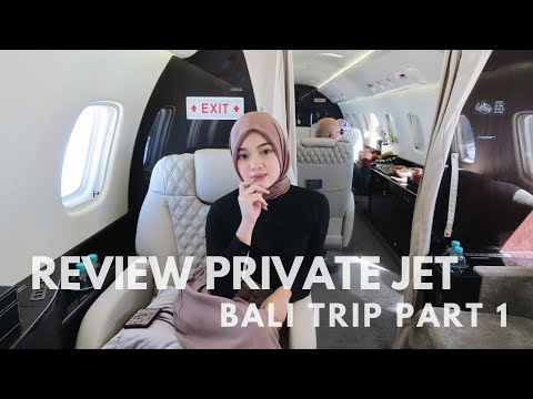 REVIEW PRIVATE JET + BALI TRIP PART 1 | Diandra Marsha