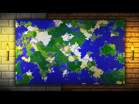 Minecraft: Jak Zrobić DUŻĄ Mapę?