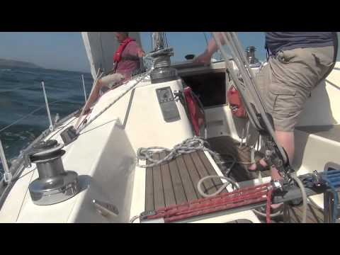 Sailing Adventure Across the English Channel