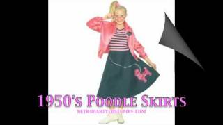 1950's Poodle Skirts