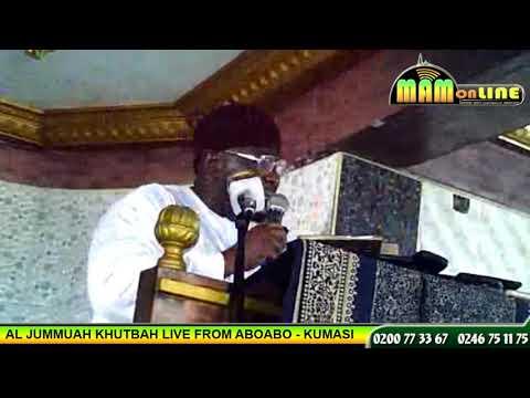 THE FRIDAY SERMON @ ABOABO (HAUSA LANGUAGE )