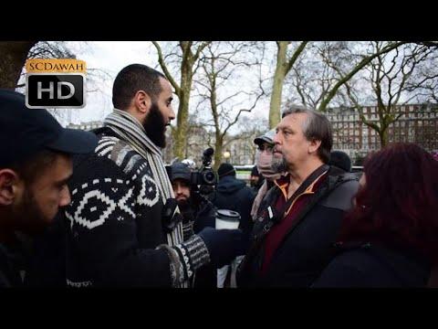 American Faith? Mohammed Hijab Vs American Christian L Speakers Corner L Hyde Park
